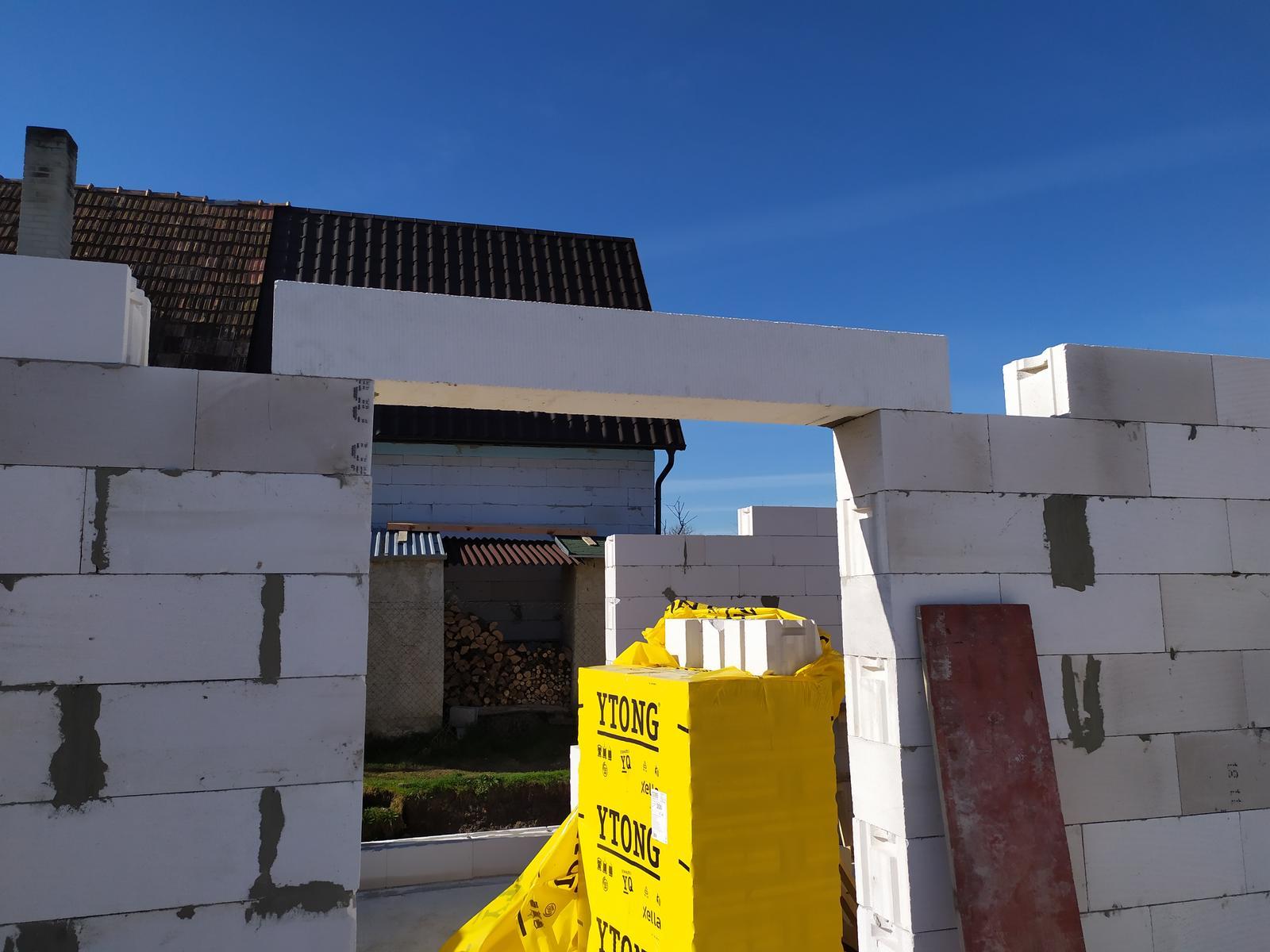 Stavba domu - Svojpomocne 🏠 - Dal zabrať ....