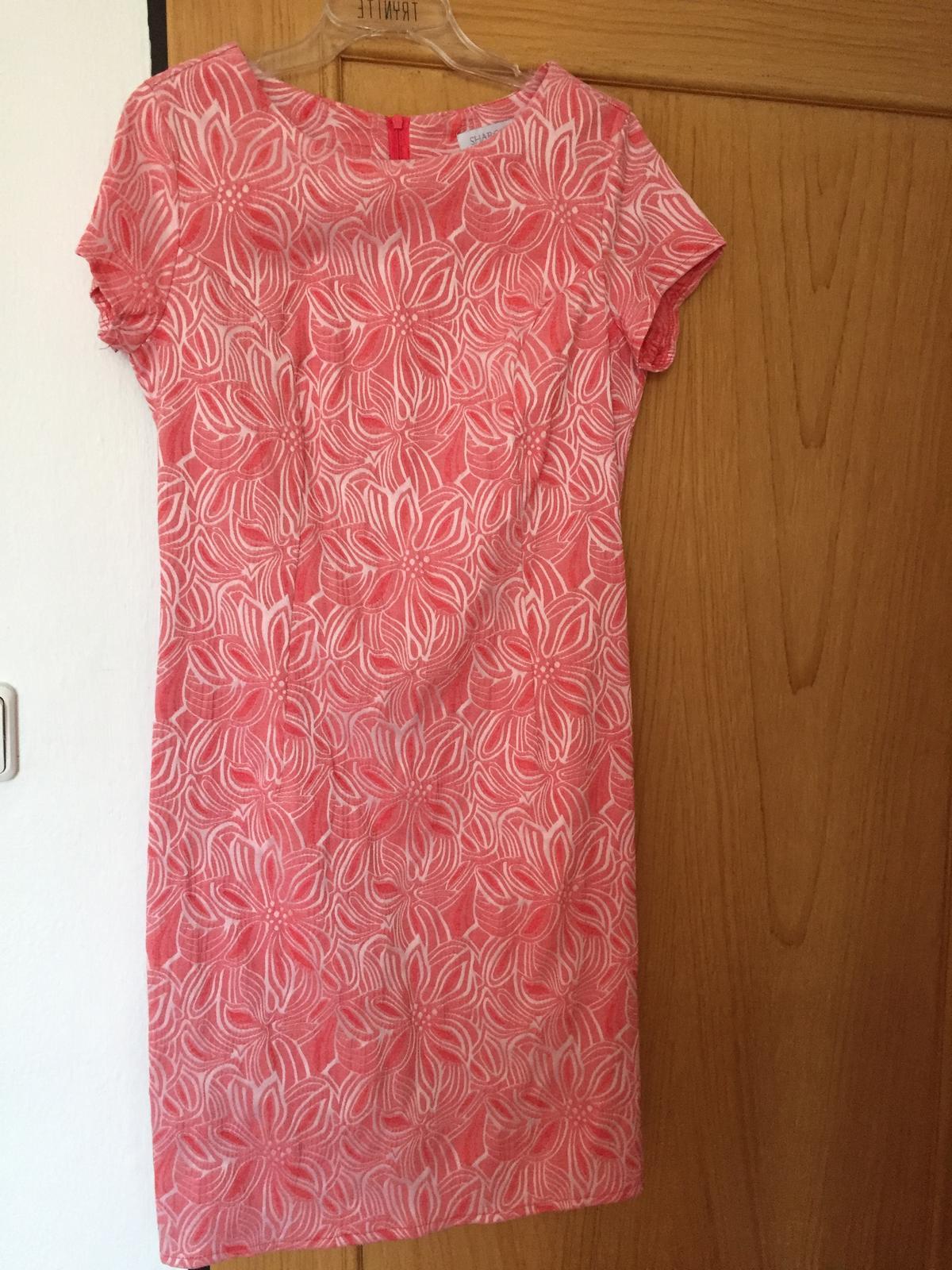 šaty lososové - Obrázek č. 1