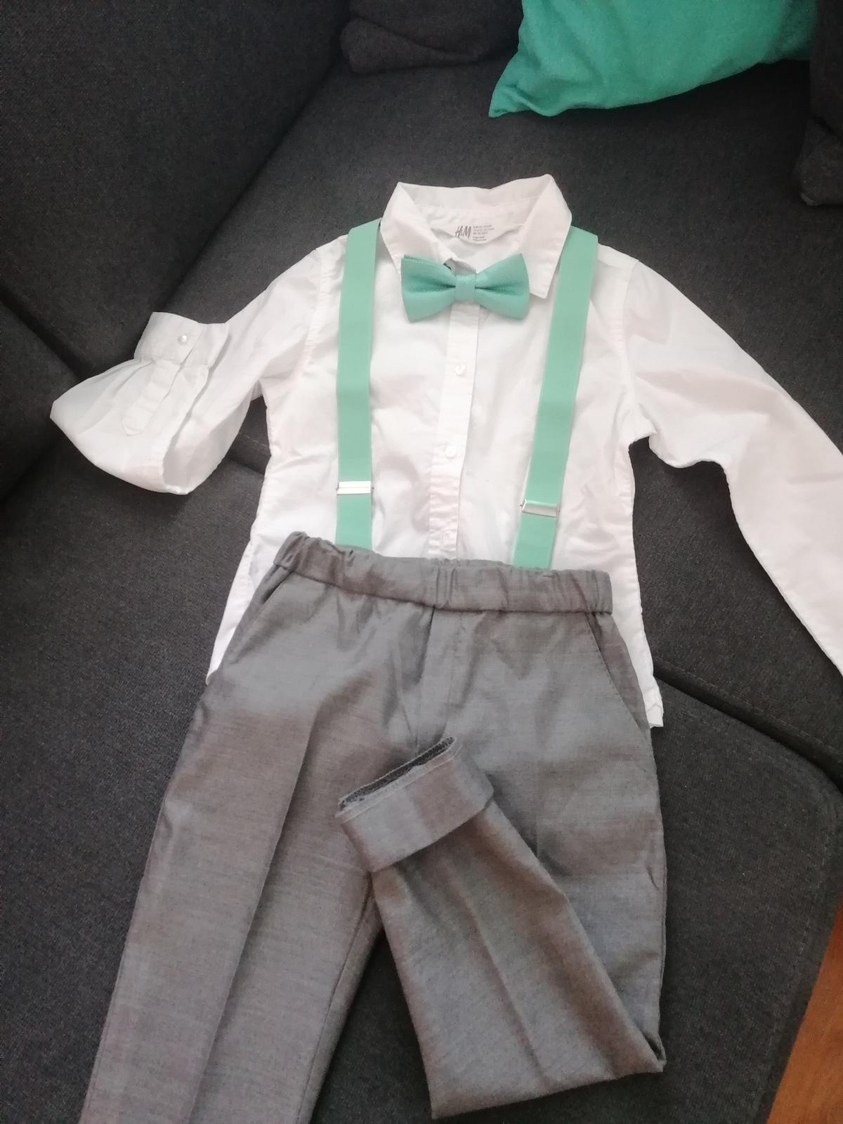 Spoločenské oblečenie pre chlapca - Obrázok č. 1