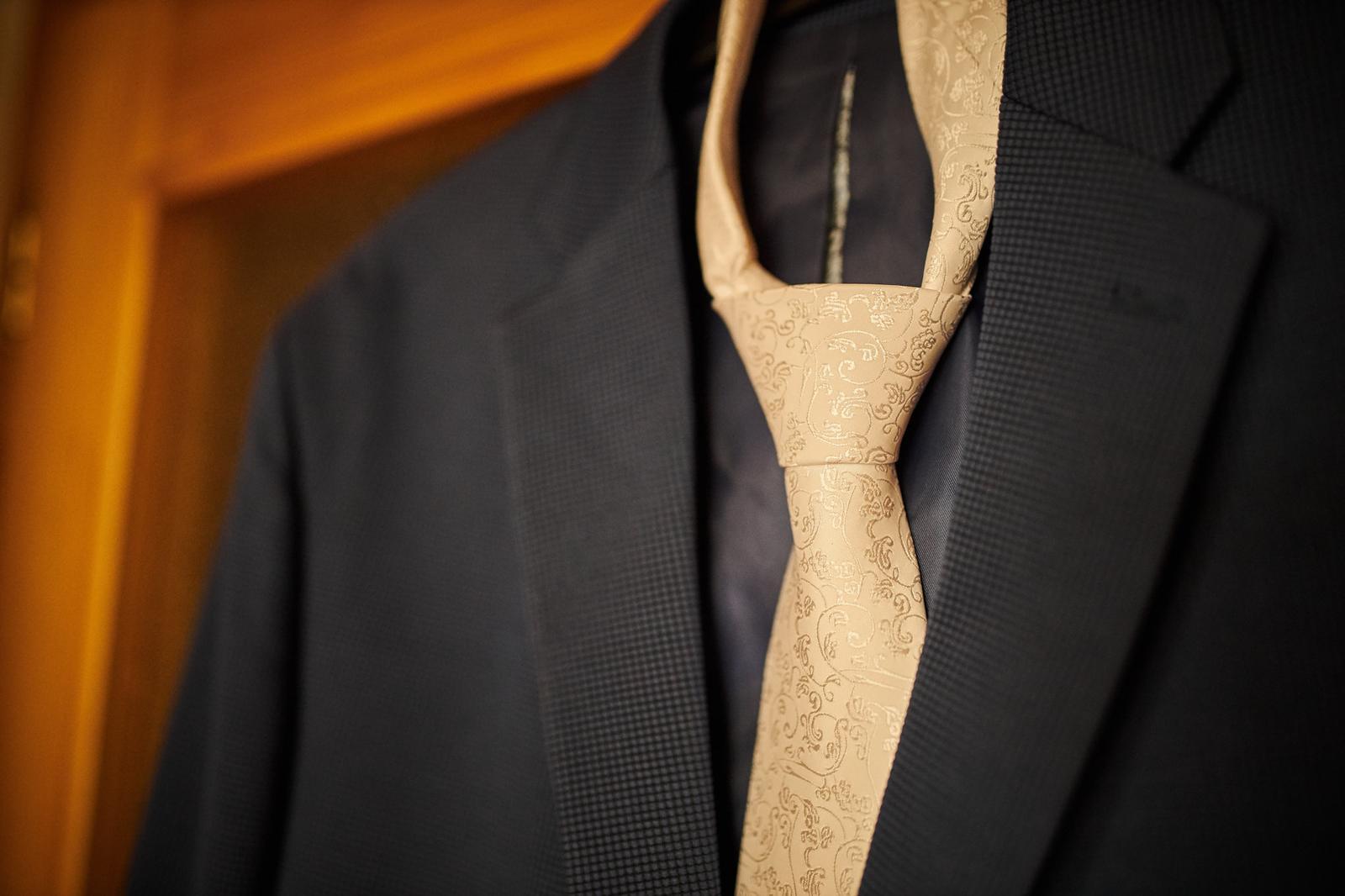 kravata a satka pre zenicha - Obrázok č. 1