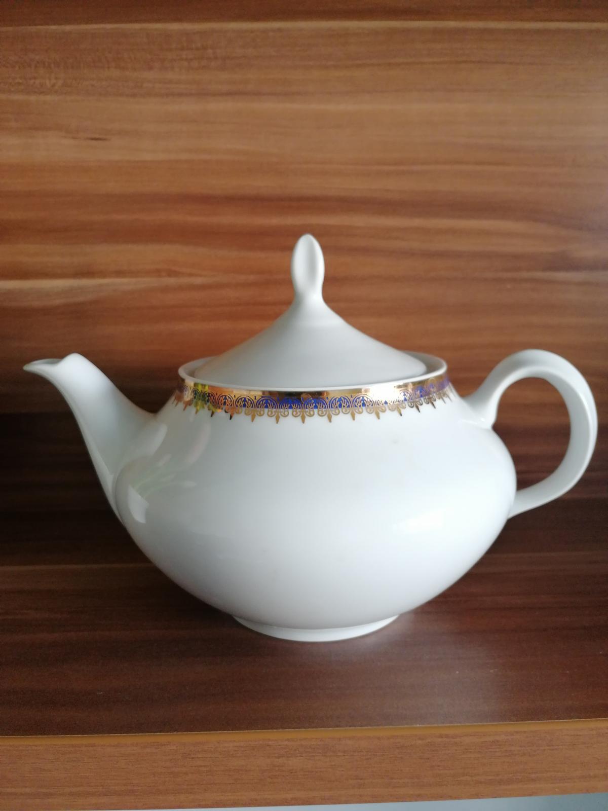 Porcelánový čajnik - Obrázok č. 1