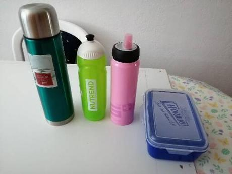 Fľaše a termoska - Obrázok č. 1