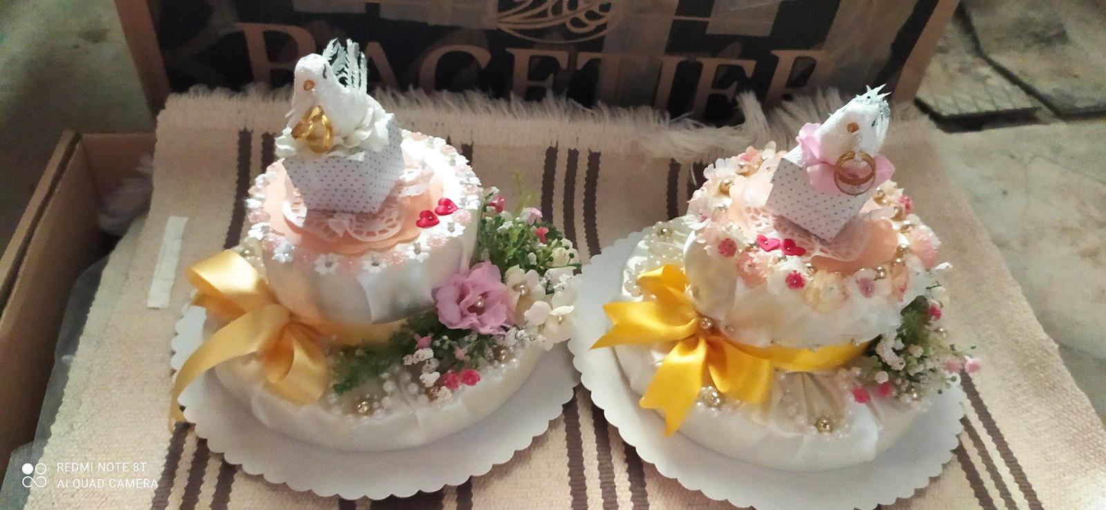 Dekoračné torty - Obrázok č. 1