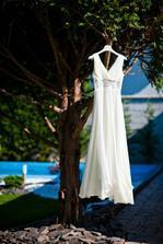 ...šaty na predsvadobne fotenie ... :-) inak bol to krasny deň, ktorý nám ušetril veľa času v deň svadby, ktorý som sa aspoň venovala našim svadobným hosťom