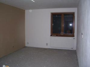 Budoucí ložnice.