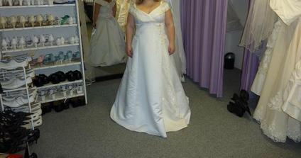 Mé svatební šaty :)