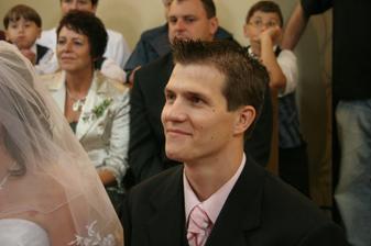 usmívající se ženich :-)
