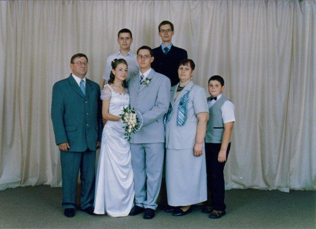 Terézia Galisová{{_AND_}}Ján Goffa - ... s manželovou rodinkou...