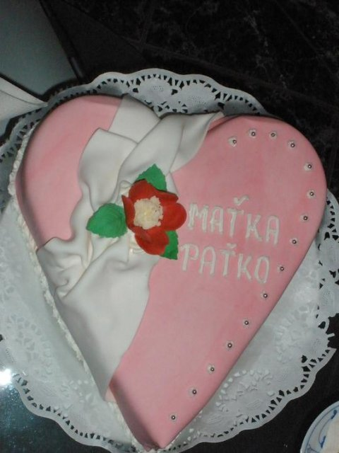 Paťko & Maťka - Zásnubná tortička