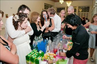 barmanka bola vynikajuca - miesala fajne drinky