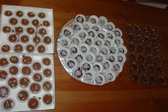 Čokoládky do koláčků-moje výroba.