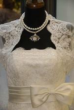 moje satocky, vystavene na svadobnej vystave v Carltone