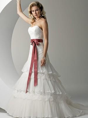 Svatební šaty - růžové i červené až do bordó - Obrázek č. 39