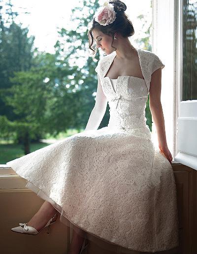 Krátké svatební šaty - Obrázek č. 140