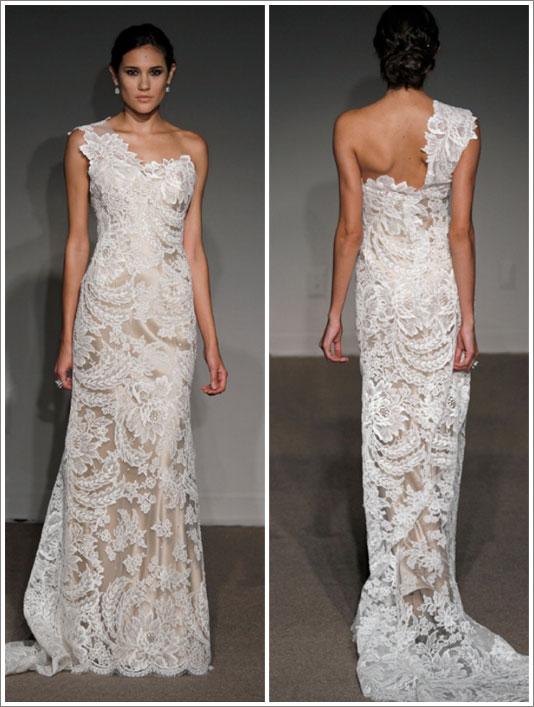 Snad neokoukané svatební šaty - Uija Maija - Bianca