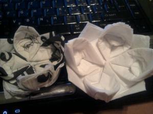 trošku origami :)