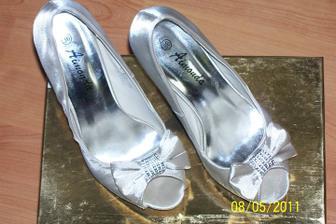 moje svadobné črievičky :)