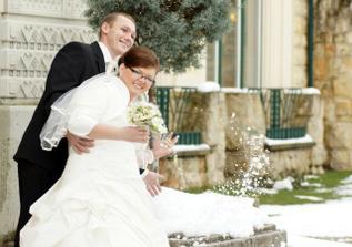 dokonca sme mali sneh na svadbe