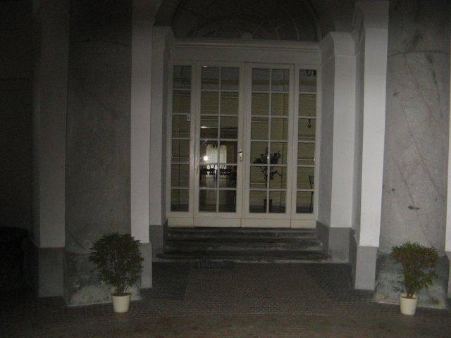 Nápady - kupola vchod do saly