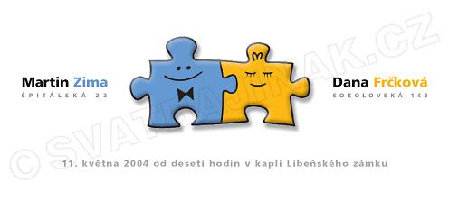 Barborka a Maťko 27.9.2008 - tymto oznamkom sme sa inšpirovali