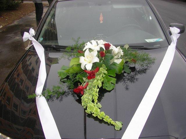 Vyzdoby svadobných  áut - Obrázok č. 37