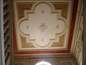 Malovaný strop