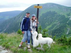 """Naše """"rodina"""" na horách"""