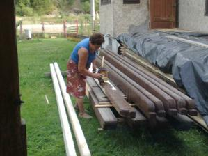 babicka mi natiera krov