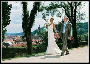 procházka kolem Pražského Hradu