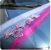 Dekorácia na auto motýľ ,