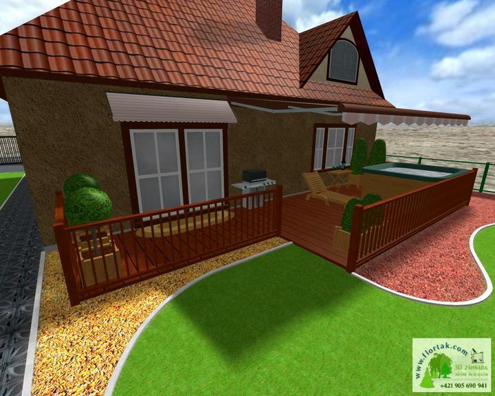 Navrhujem záhradu kamarátovi - Terasa