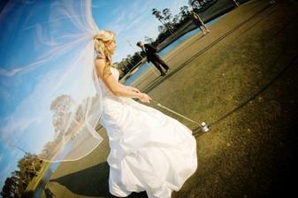 Budou - fotky z golfu, fotograf i majitel hřiště souhlasili!