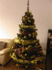 náš krásny tohoročný stromček-myslim, že sa podaril:)