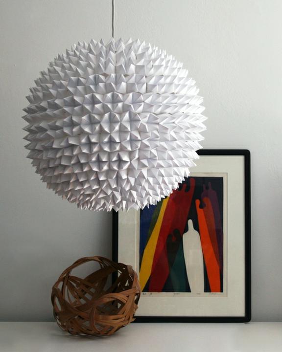 Inšpirácie na každé obdobie a všetko čo ma zaujalo - určite viete z čoho táto lampa je...