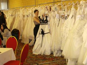 je to ohromná výhoda když jste z oboru, nevím kolik nevěst si mohlo vybírat z tolika modelů