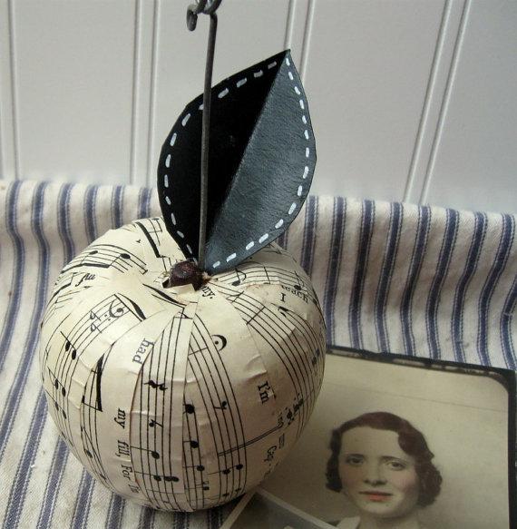 Noty+vintage+drevo+sklo - Obrázok č. 14