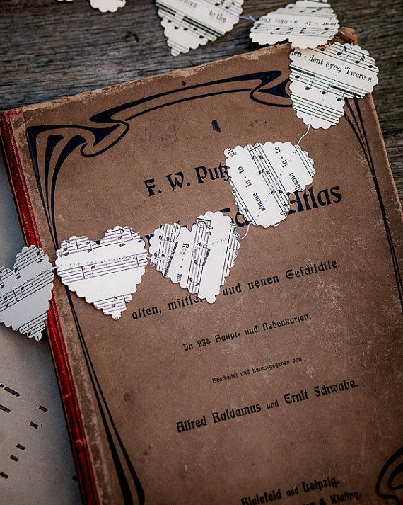 Noty+vintage+drevo+sklo - Obrázok č. 18