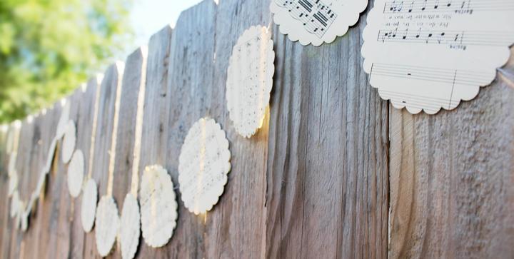 Noty+vintage+drevo+sklo - Obrázok č. 25