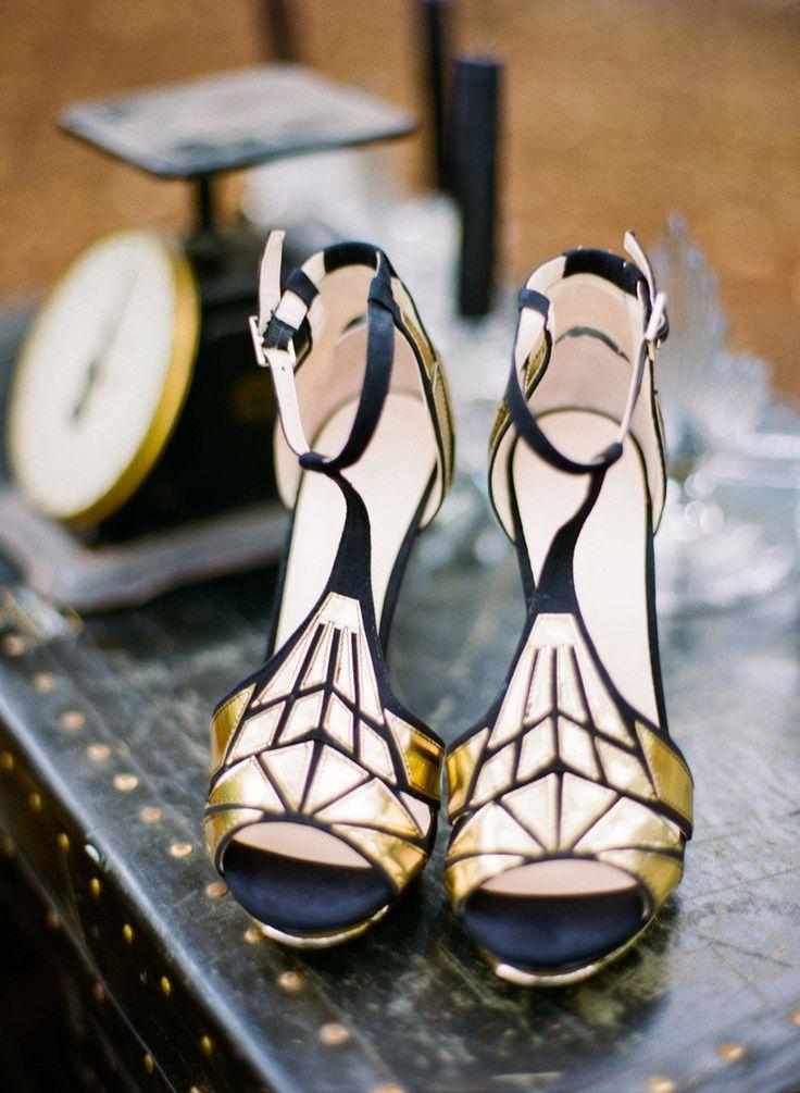 Art deco & black & gold & turquoise wedding - Obrázok č. 1