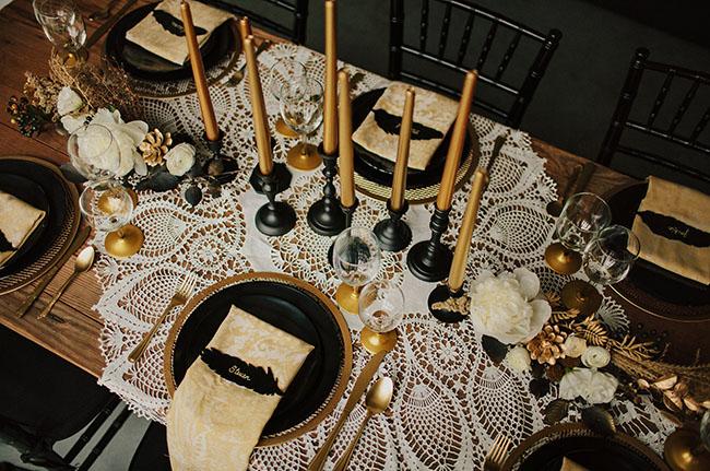 Art deco & black & gold & turquoise wedding - Obrázok č. 3