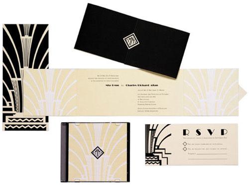 Art deco & black & gold & turquoise wedding - Obrázok č. 5