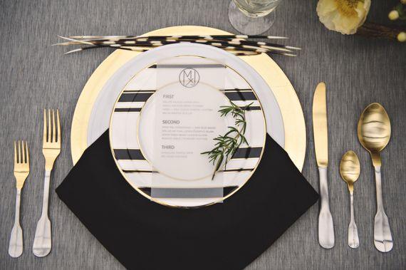 Art deco & black & gold & turquoise wedding - Obrázok č. 8