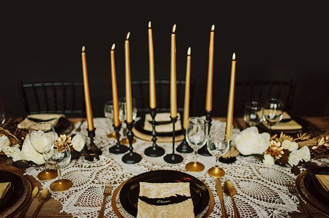 Art deco & black & gold & turquoise wedding - Obrázok č. 23