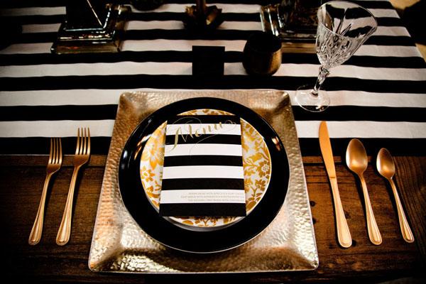 Art deco & black & gold & turquoise wedding - Obrázok č. 24