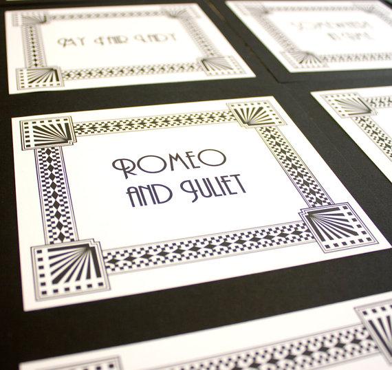 Art deco & black & gold & turquoise wedding - Obrázok č. 34
