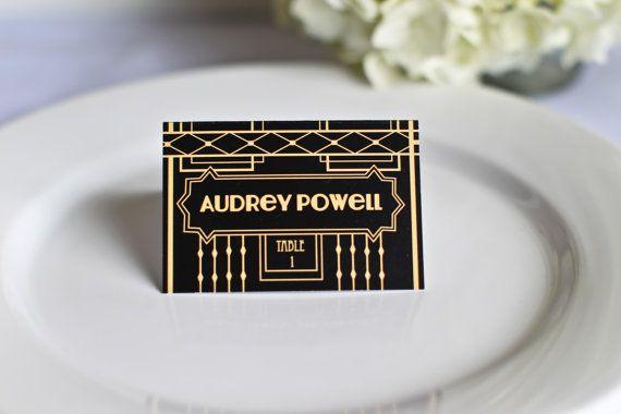 Art deco & black & gold & turquoise wedding - Obrázok č. 49