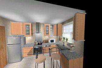 druhy navrh kuchyne