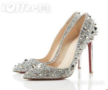 Beautiful designer wedding shoes - Obrázok č. 1