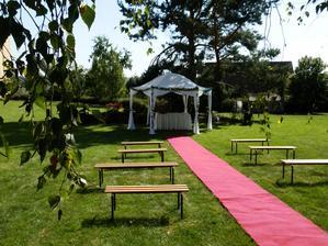 Zahrada Lidické Galerie, svatba Lidice