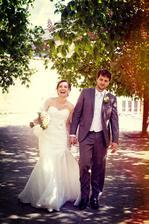 šťasné vkročenie do manželstva